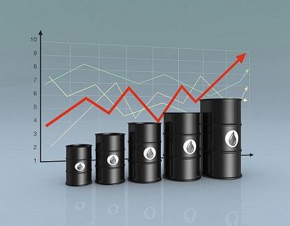 pris på ett fat olja